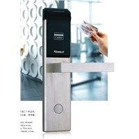 card reader electric door lock for hotel door