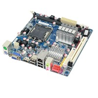cheap Mini-ITX Motherboard with ddr3 slot socket lga 775 processors LPT/COM/VGA/PCI