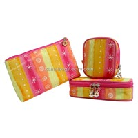 Cosmetic Bag(KM-COB0055), Cotton Bag, Make up Bag, Beauty Bag, Promotion Packing Bag, Toiletry Bag