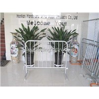 Crowd Control Barrier 2100*1050mm 120mm Infill Pickets Hot-Dipped Galvanized after Welded