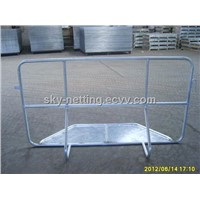 Crowd Control Barrier with Stable Feet (Belgium Fence Style)