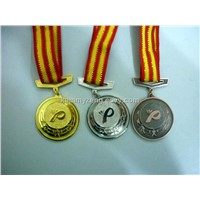 customized  zinc alloy gold sport medals