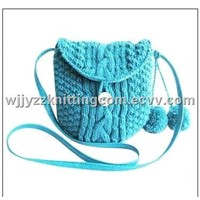 Fashion Knitted Handbag Purse