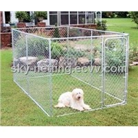 Galvanized Chain Link Outdoor Dog Kennel (Factory Price )