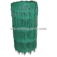 Garden Border Fence Plastic Coated Mesh 82*150mm Mesh Size 2.0/3.0mm Diameter