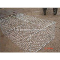 Hot-Dipped Galvanized Hexagonal Wire Mesh/Gabion Box HTGBW003-122