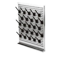 lab drying rack pegboard