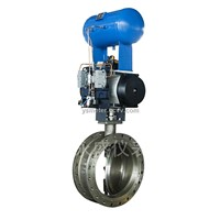 metal hard sealed butterfly valve