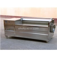 Potato Cleaning and Peeling Machine / Carrot Washing Machine 0086-18703683073