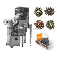 pyramid tea bags packaging machine