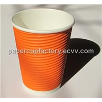 ripple wall cup,ripple wall cup,tripple wall cup,corrugated cup lid