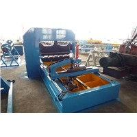 roof crimped curving machine