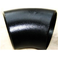short radius black painting elbow