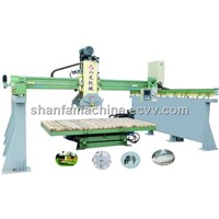 three-dimension bridge cutting machine with computer