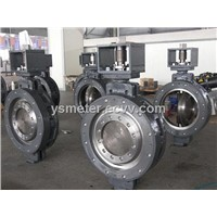triple eccentric multiplex ring metal-seat butterfly valve