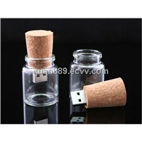 wishing bottle flash usb memory drive usb stick 1gb/2gb/4gb/8gb/16gb/32gb