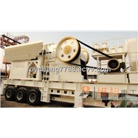 mobile crusher for construction waste/quarry