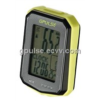 G.PULSE 20 FUNCTION WIRELESS CYCLOCOMPUTER WITH SPEED/CADENCE SENSOR