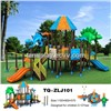 2012 Newest Popular Plastic Outdoor Playground (TQ-ZLJ101) Kids' Amusement Park