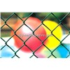 Chain Link Fence Galvanized or PVC Coated Diamond Wire Mesh Fence Manufature with 18 Years Warranty