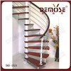 Interior  Wood  Spiral Stairs DMS-1024