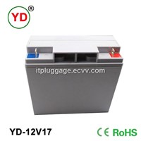 12v17ah rechargeable sealed lead acid battery