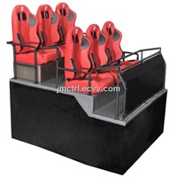 5d Theatre Core System Manufacture 6DOF 6seats Pnematic Chair Platform Home Theater System