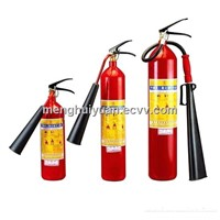 CO2 and dry powder   f i r e  extinguisher