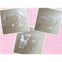 Clear PVC ziplock bag packaging