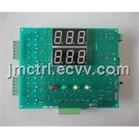 Coin Control PCB Digital Tube Display Auto Water Vending Machine with Coin and IC Card Controller