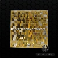 Decorative diamrain acrylic panel for walls and dividers