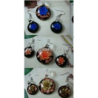 Glass Eardrop, Glass Jewelry, Glass Jewelry Wholesale, Glass Beads