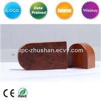 Promotion Gift Redwood Type USB Flash Stick