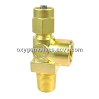 QF-2D Brass Oxygen Cylinder Valve for O2 Cylinders