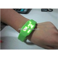 Silicone LED watch USB flash drive