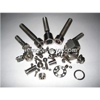 Titanium Fasteners,Ti Screw Bolt Hex Nuts Washers,ti parts
