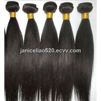 Virgin remy hair extension/ silky straight weft