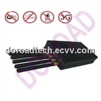 WIFI+GPS+Cell Phone Jammer/Blocker DR-E808KG