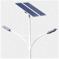 120W Silicon Solar LED Street Light
