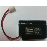 12V0.8AH lead acid battery replacement (LiFePO4)