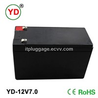 12v7Ah electric bike battery
