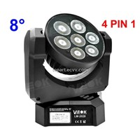 12W x7 RGBW LED Moving Head Light Beam