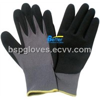 15 Guage Nylon Shell With Nitrile Foam Dipped Work Gloves BGNC501