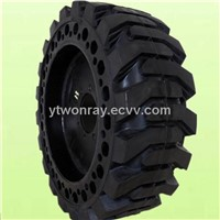 17.5-25 bobcat loader solid tire