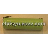 1.2V AA600mAh Nimh battery with tag