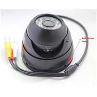 "1/3"" Sony Color CCD,IR Dome Camera,Metel shell, with audio"