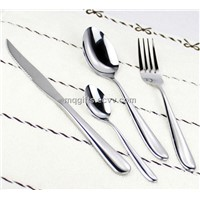 2013 5 Star Hotel Sanding Polish Cutlery Sets
