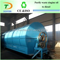 2013 latest technology scrap tire recycle to diesel machine