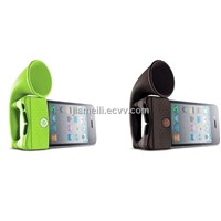Silicone horn stand cover holder