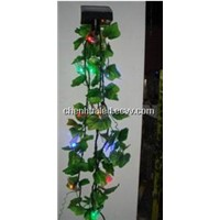 20 LED decoration light withThe butterfly and leaves
